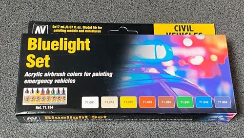 Model Air Bluelight Set Colour Acrylic AV71154