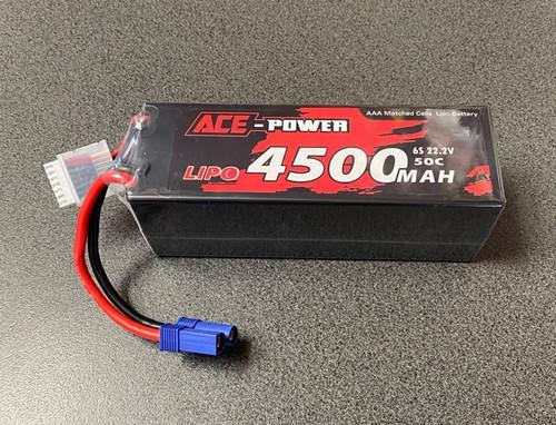 4500Mah 50c 6s 22.2v with EC5 ACE4500HC506SEC5