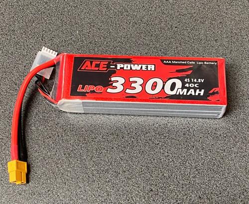 Ace Power 3300Mah SC 40C 4S XT60