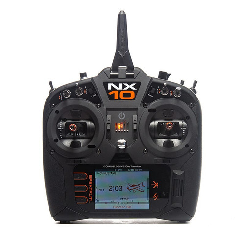NX10 10-Channel DSM-X Transmitter Only, Mode 1 SPMR101001