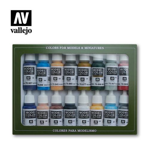 American Civil War Acrylic Paint Set (16x17ml) AV70111