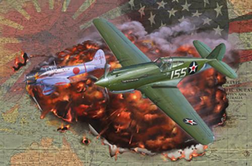 1/48 Curtiss P-40C Warhawk Fighter FB4008
