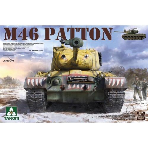 1/35 US Medium Tank M46 Patton 2117