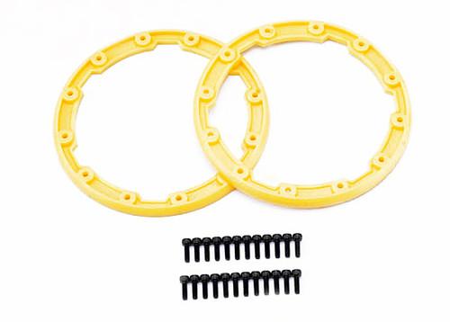 Sidewall Protector, Beadlock-Style (Yellow) (2)/2.5x8mm CS (24) 5665