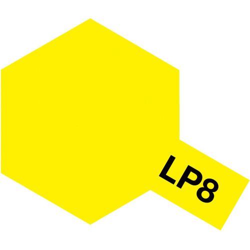 Lacquer LP-8 Gloss Pure Yellow Paint 10ml T82108