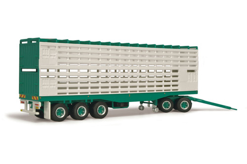 Phillip Harris Livestock Trailer with Dolly 1/64 12981
