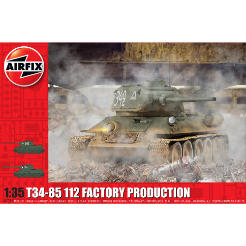 1/35 T34-85 112 Factory Production 1361