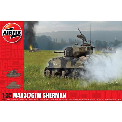 """1/35 M4A3(76)W Sherman """"Battle of the Bulge"""" 1365"""