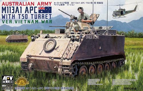 1/35 Australian Army M113A1 APC with T50 Turret Vietnam War 35291