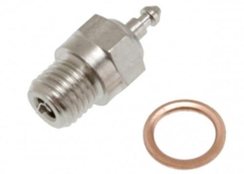 Traxxas Glow Plug, Super-Duty (Long-Medium)/Gasket 3232X