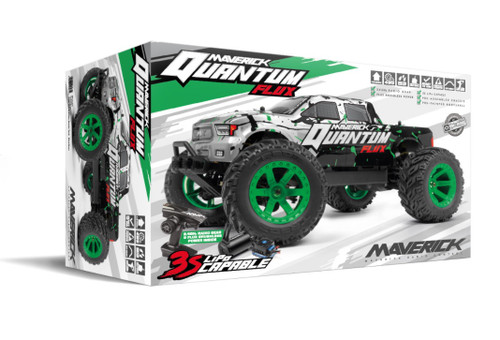 Quantum MT 1/10 4WD Flux 80A Brushless Electric Monster Truck MV150203