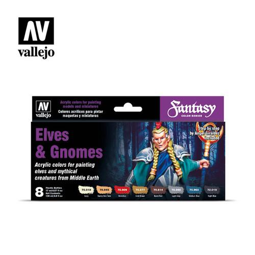 Fantasy Color Elves & Gnomes Acrylic Paint Set (8x17ml) AV70242