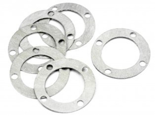 Diff Case Washer 0.7mm (6pcs) HPI-86099