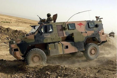 1/72 Bushmaster Protected Mobility Vehicle Plastic Model DR7699