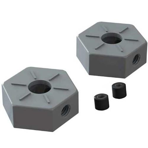 Metal Wheel Hex 14mm, BLX, 3S, 2 Pieces, AR310871
