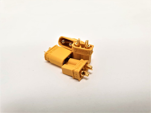 XT30U Plug Male & Female (2 Pair) TRC-0105C