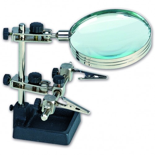 Third Hand with Magnifying Glass 27022