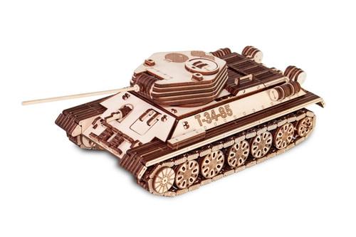 Tank T-34-85 Wooden Model 00082