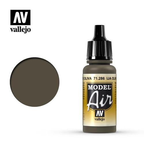 Model Air IJA Olive Green Acrylic Paint 17ml AV71286