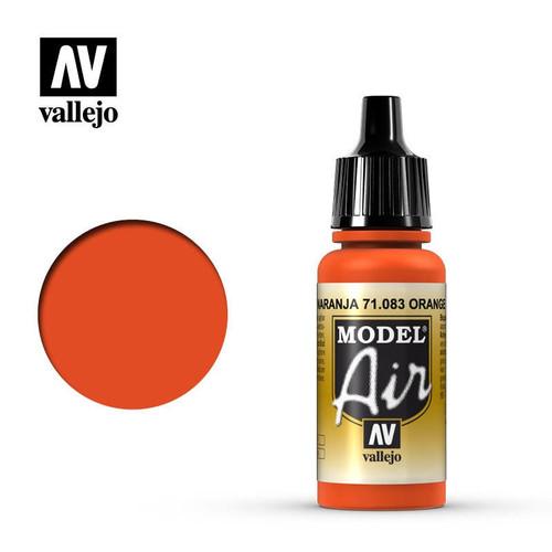 Model Air Orange Acrylic Paint 17ml AV71083