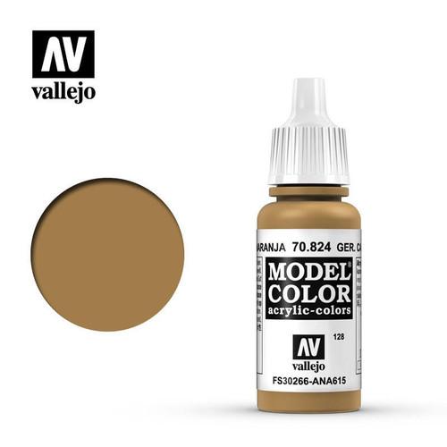 Model Color German Camouflage Orange Ochre Acrylic Paint 17ml AV70824