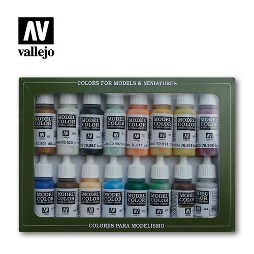 Model Color Naval (Steam Era) Acrylic Paint Set (16x17ml) AV70146