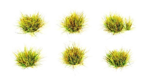 10mm Self-Adhesive Spring Grass Tufts (100) PSG74