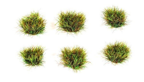 10mm Self-Adhesive Autumn Grass Tufts (100) PSG76