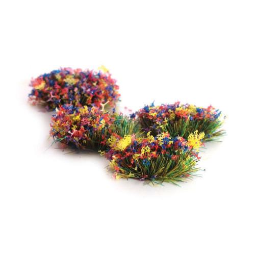 4mm Self-Adhesive Flower Grass Tufts (100) PSG51