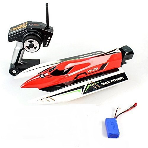 High Speed Brushless Cat 2.4G Racing RC Boat (Requires Charger) WL915
