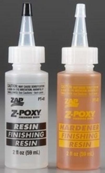 Zap Finishing Resin 4oz PT41