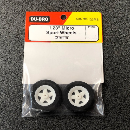 "1.23"" Micro Sport Wheels (31mm) DUBWH123MS"