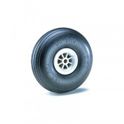 2-1/4 Dia Treaded Lightweight Wheels DUBWH225TL