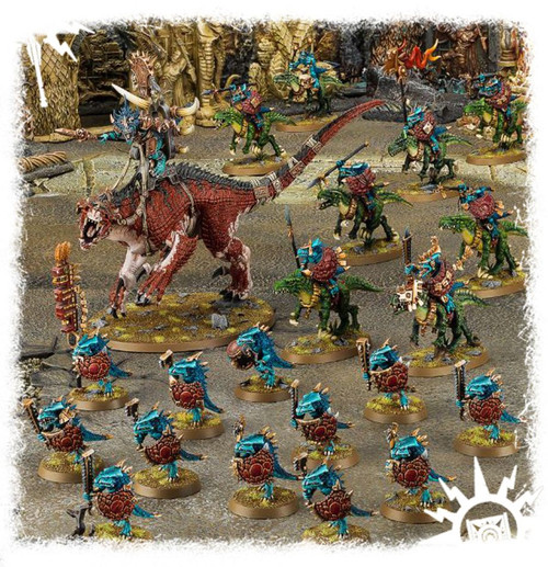 Age of Sigmar Start Collecting! Seraphon 70-88 plus bonus White Dwarf November 2017