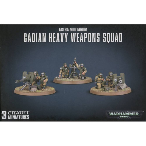 Astra Militarum Cadian Heavy Weapon Squad 47-19