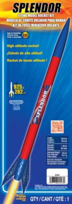 Splendor Model Rocket Kit EST-2443