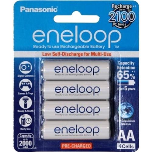 Eneloop AA Four Pack NiMh Batteries