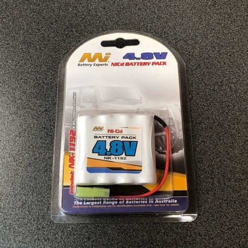 Nikko Style 4.8v 700MAh NiCd Battery Pack NK-1192