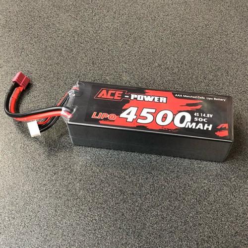 4500mah HC 50c 4s EC5 ACE4500HC504SDEANS