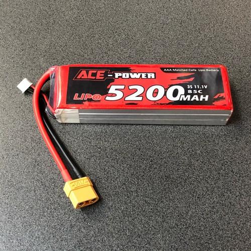 5200mah 11.1v 3s 85c XT90 ACE5200SC853SXT90