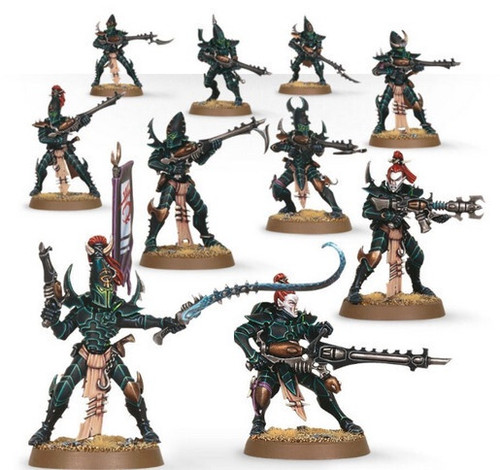 Drukhari Kabalite Warriors 45-07