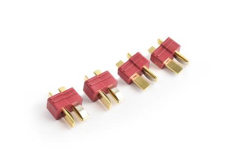 Deans Plugs with Grids Male 4pcs TRC-0103M