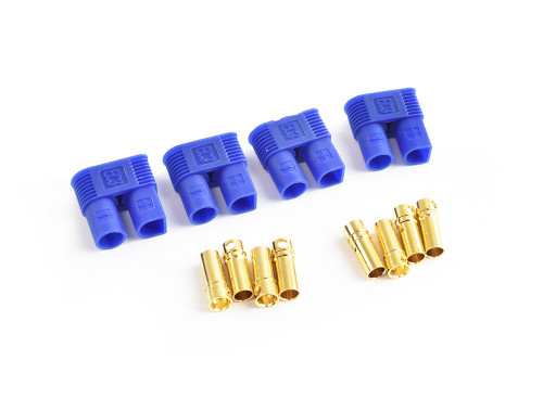 EC3 Plug Female (Female Bullet with Male Housing) 4pcs TRC-0118F