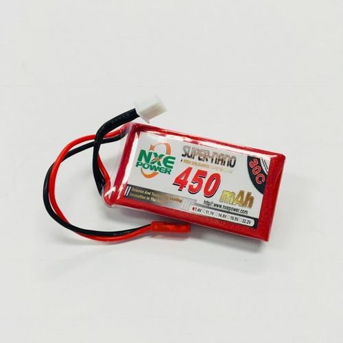 7.4V 450mAh 2S 30C LiPo Battery with JST 450SC302SJST