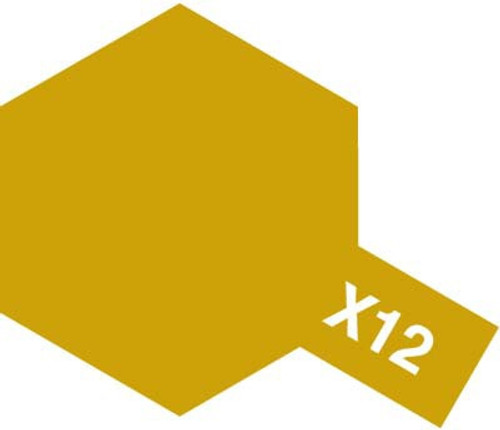 Acrylic Mini X-12 Gloss Gold Leaf  Paint 10ml T81512