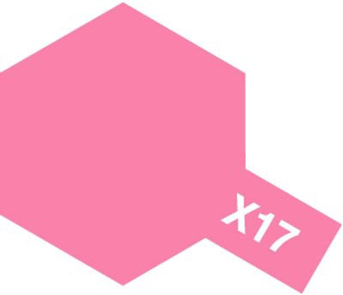 Acrylic Mini X-17 Gloss Pink Paint 10ml T81517