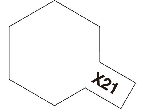 Acrylic Mini X-21 Flat Base 10ml T81521