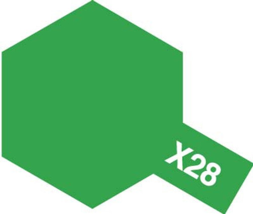 Acrylic Mini X-28 Gloss Park Green Paint 10ml T81528