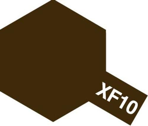 Acrylic Mini XF-10 Flat Brown Paint 10ml T81710