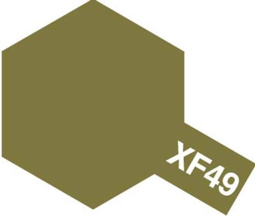 Acrylic Mini XF-49 Flat Khaki Paint 10ml T81749